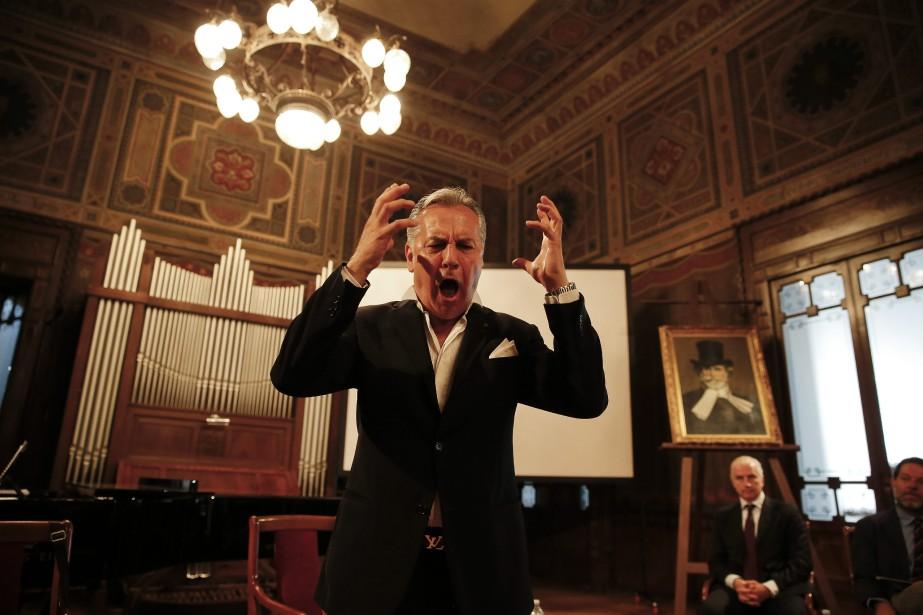 Le baryton italien Armando Ariostini donne un spectacle... (PHOTO LUCA BRUNO, ARCHIVES AP)