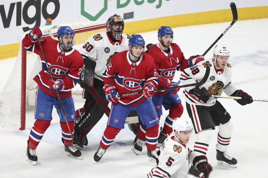 Le Canadien n'a pas marqué plus de trois... (PHOTO ROBERT SKINNER, LA PRESSE)