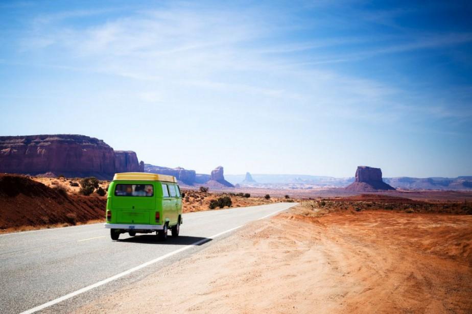 Road-trip aux États-Unis (Monument Valley, Utah et Arizona... (PHOTO GETTY IMAGES)