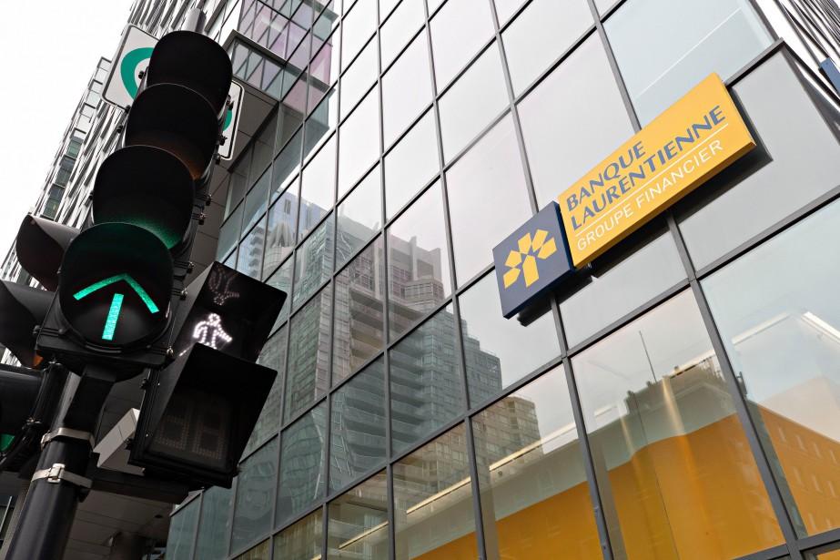 Les cinq principaux dirigeants de la Banque Laurentienne ont... (PHOTO LA PRESSE)