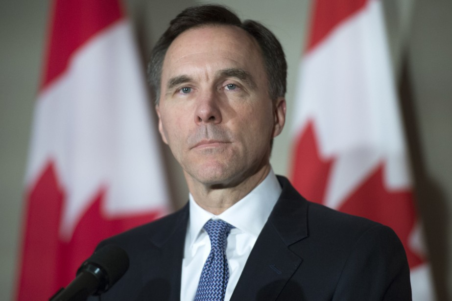 Le ministre des Finances, Bill Morneau... (PHOTO FRANK GUNN, PC)