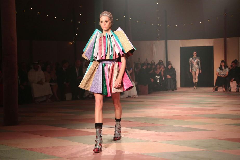 Dior a dévoilé une collection «capsule» composée de... (PHOTO JON GAMBRELL, AP)