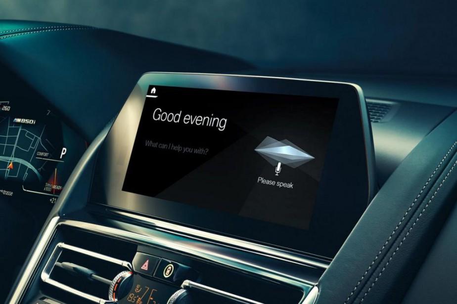 La commande vocale pourrait bien devenir la deuxième... (PHOTO FOURNIE PAR BMW)