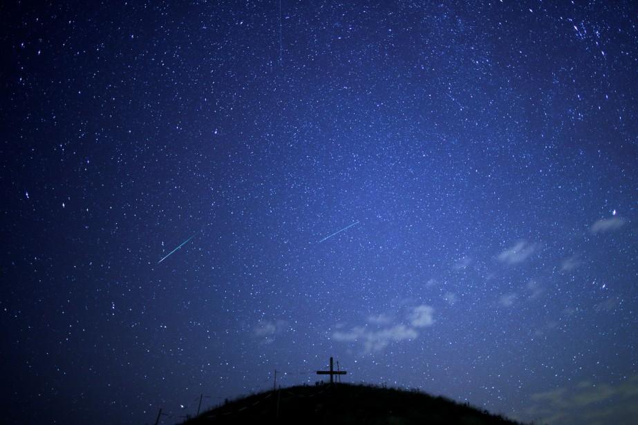 Un météore est le phénomène lumineux résultant de... (ARCHIVES REUTERS)