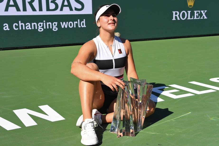 La Canadienne Bianca Andreescu a remporté le tournoi... (PHOTO JAYNE KAMIN-ONCEA, USA TODAY SPORTS)