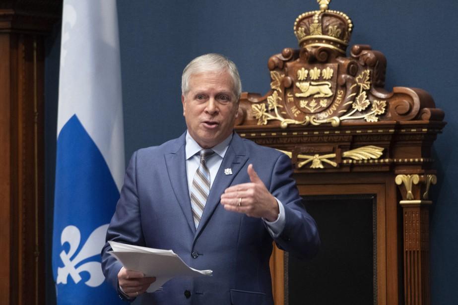 Le président de l'Assemblée nationale, François Paradis... (PHOTO JACQUES BOISSINOT, ARCHIVES LA PRESSE CANADIENNE)