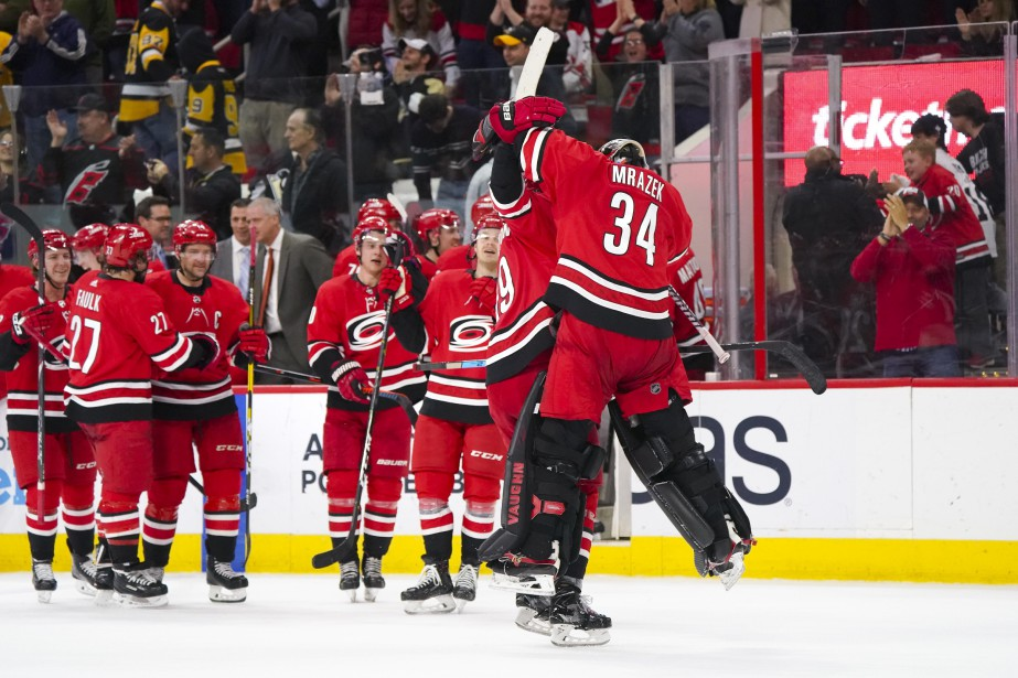 Les Hurricanes ont remporté quatre de leurs cinq... (PHOTO JAMES GUILLORY, USA TODAY SPORTS)