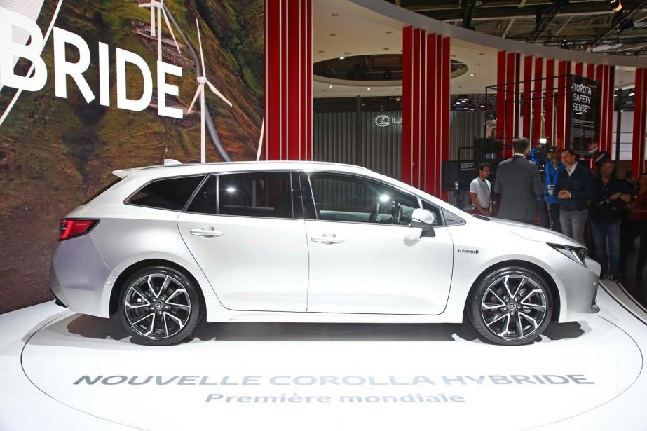 Toyota va fournir «un véhicule hybride électrique» à... (PHOTO SAISIE D'ÉCRAN YOUTUBE)