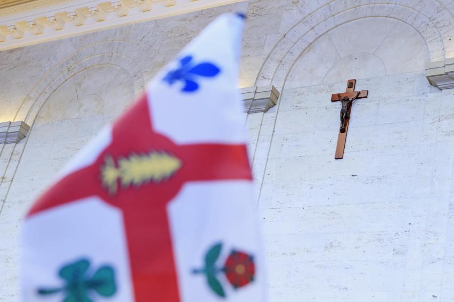 Le crucifix rejoindra une section muséale qui sera... (PHOTO ALAIN ROBERGE, LA PRESSE)