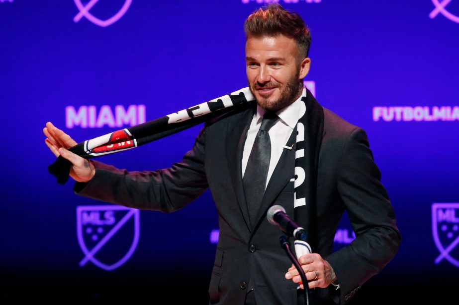 David Beckham... (PHOTO RHONA WISE, AFP)