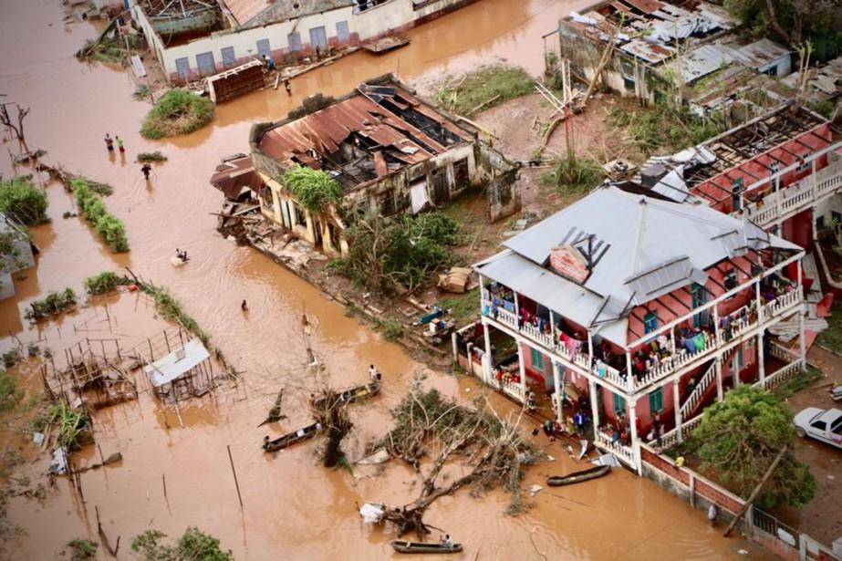 Le cyclone Idai a balayé dans la nuit... (PHOTO ADRIEN BARBIER, AFP)