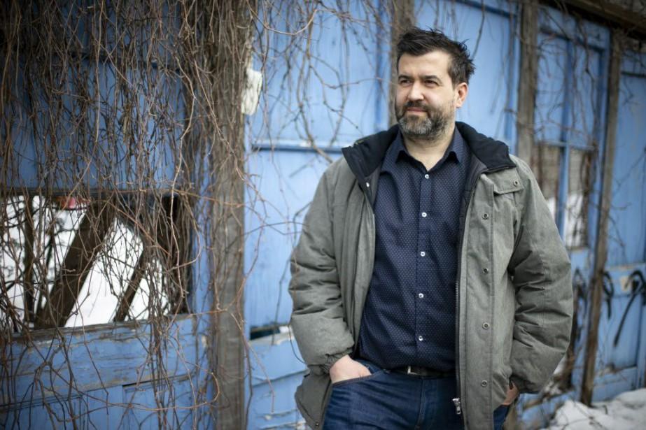 Mathieu Arsenault, réalisateur du film Tenir tête, «guide... (PHOTO DAVID BOILY, LA PRESSE)