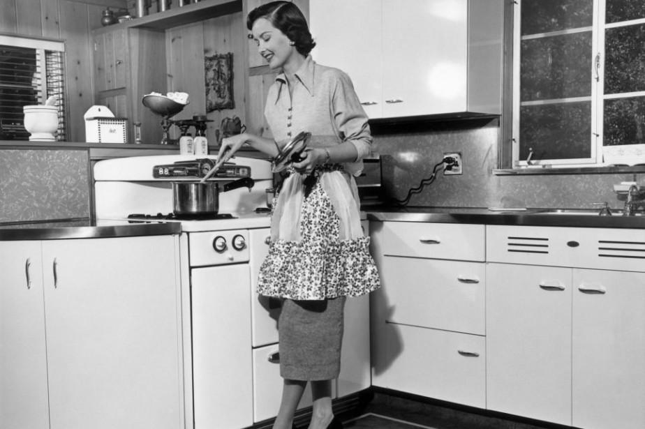 La cuisine des années 50 aux États-Unis... (PHOTO GETTY IMAGES)