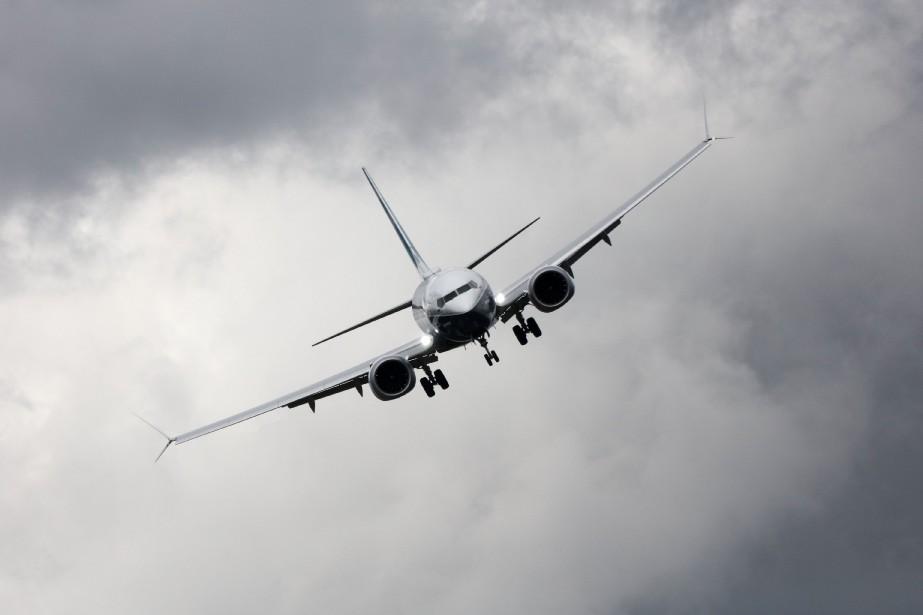 Un Boeing 737 MAX... (PHOTO SIMON DAWSON, ARCHIVES BLOOMBERG)