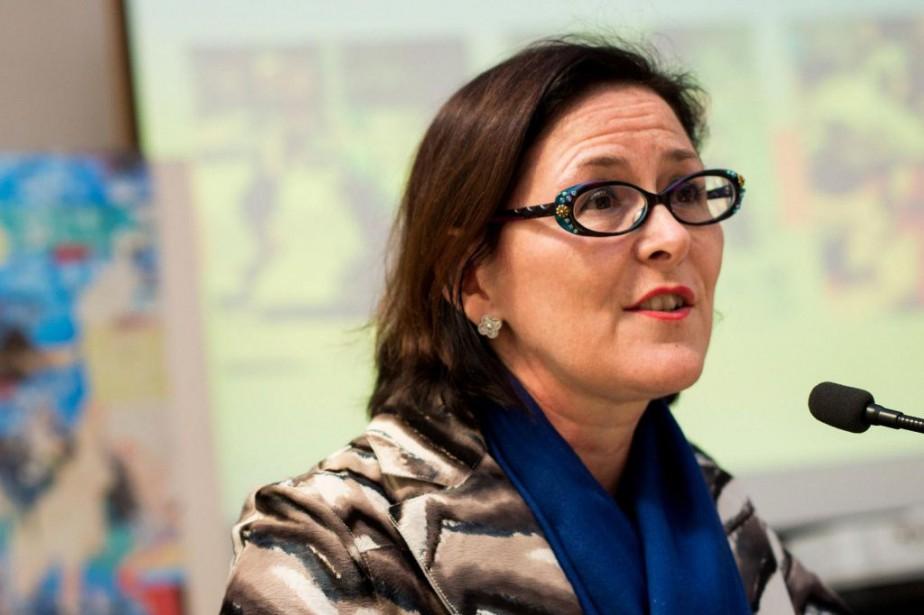 Dans une entrevue téléphonique, Diane Francoeur,présidente de la... (PHOTO SARAH MONGEAU-BIRKETT, ARCHIVES LA PRESSE)