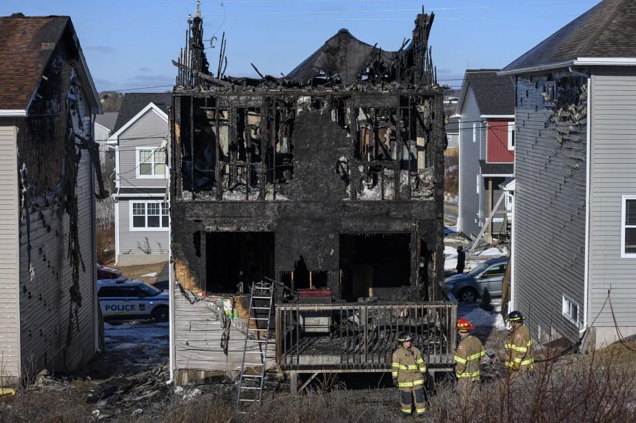Le chef adjoint des pompiers de Halifax, David... (PHOTO DARREN CALABRESE, LA PRESSE CANADIENNE)