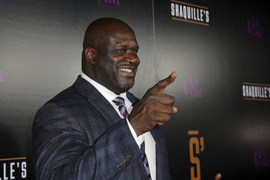Shaquille O'Neal siègera au conseil d'administration de Papa... (PHOTO WILLY SANJUAN, ARCHIVES INVISION/AP)