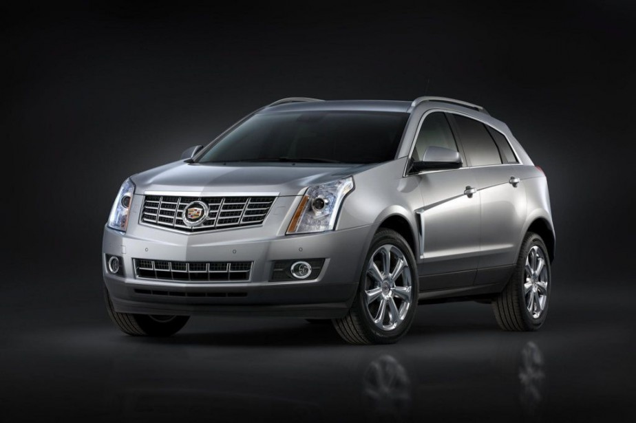 Cadillac SRX Crossover... (PHOTO FOURNIE PAR CADILLAC)