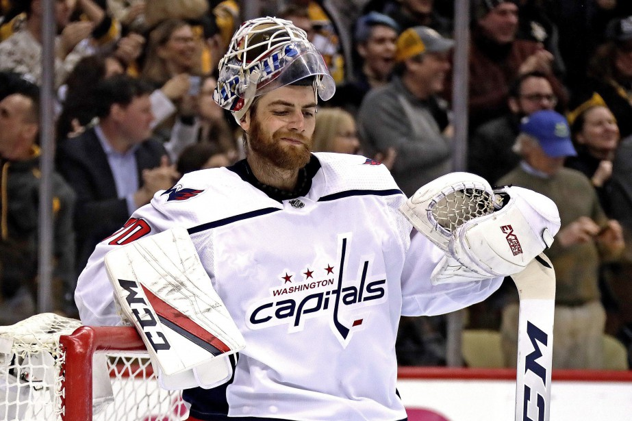 Braden Holtby... (PHOTO GENE J. PUSKAR, ASSOCIATED PRESS)
