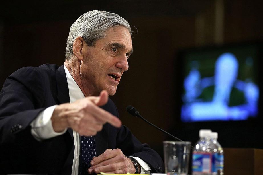 Robert Mueller Mueller a rendu vendredi ses conclusions... (PHOTO ALEX WONG, AGENCE FRANCE-PRESSE)