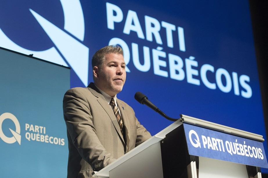 Le chef par intérim du Parti québécois, Pascal... (PHOTO GRAHAM HUGHES, ARCHIVES LA PRESSE CANADIENNE)