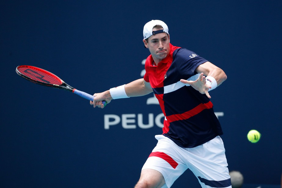 John Isner... (PHOTO JOEL AUERBACH, ASSOCIATED PRESS)