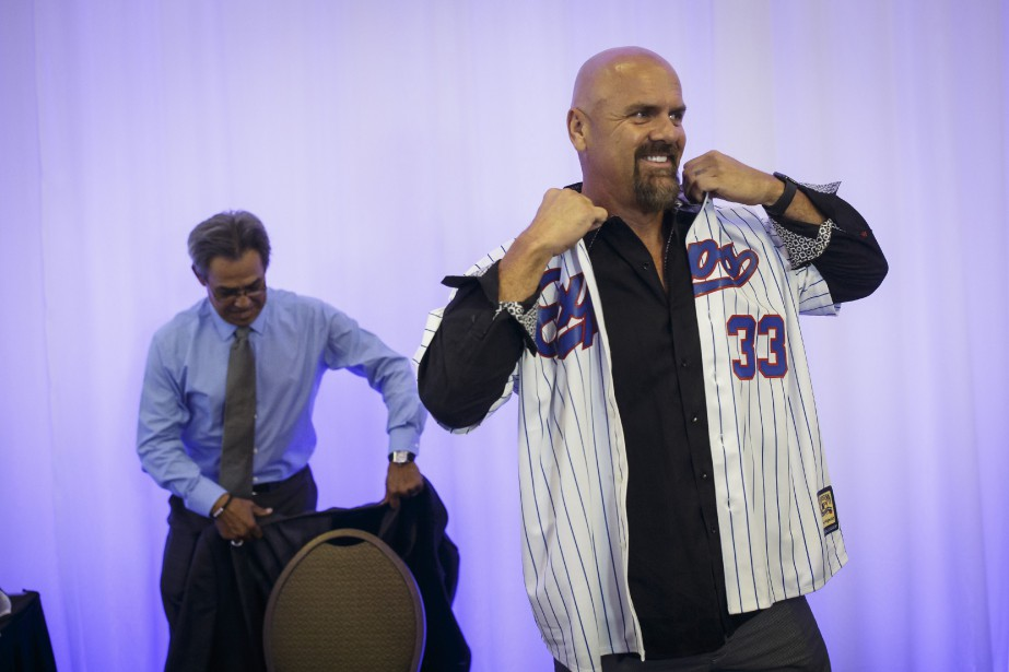 Larry Walker... (PHOTO OLIVIER JEAN, LA PRESSE)