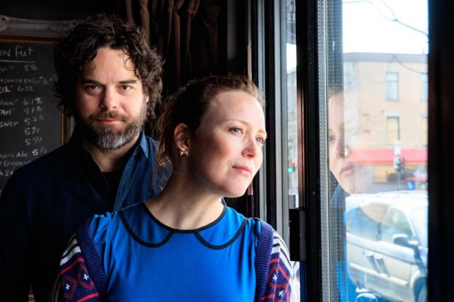 Isabelle Blais et Pierre-Luc Brillant formentComme dans un... (PHOTO HUGO-SÉBASTIEN AUBERT, LA PRESSE)
