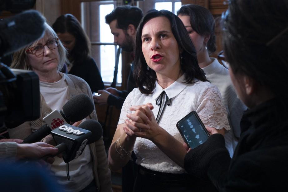 La mairesse de Montréal, Valérie Plante.... (PHOTO PAUL CHIASSON, ARCHIVES LA PRESSE CANADIENNE)