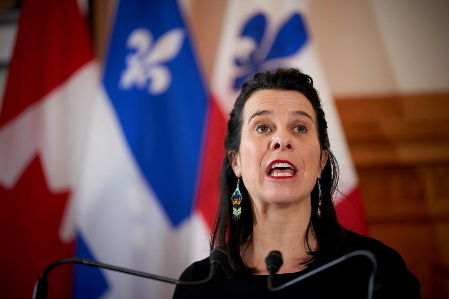 La mairesse de Montréal, Valérie Plante.... (PHOTO ANDRÉ PICHETTE, ARCHIVES LA PRESSE)
