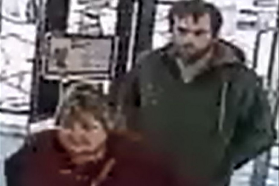 Dans un communiqué, la police décrit le «suspect... (PHOTO FOURNIE PAR LA POLICE DE SHERBROOKE)