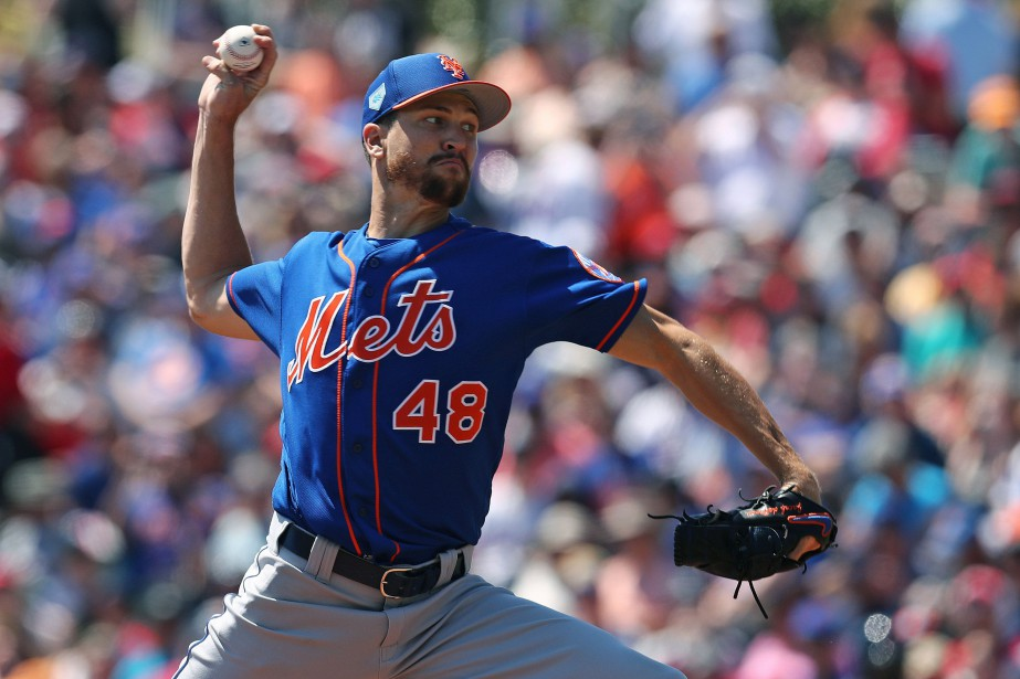 Jacob deGrom... (PHOTO AARON DOSTER, USA TODAY SPORTS)
