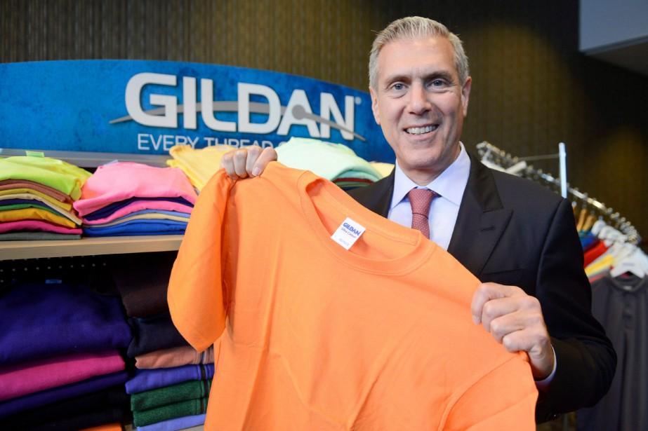 Le PDG de Gildan Glenn Chamandy.... (PHOTO PAUL CHIASSON, ARCHIVES LA PRESSE CANADIENNE)