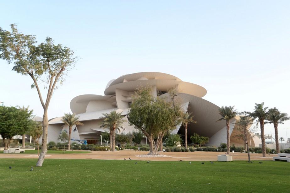 Le Musée national du Qatar, qui doit être... (PHOTO IBRAHEEM AL OMARI, REUTERS)