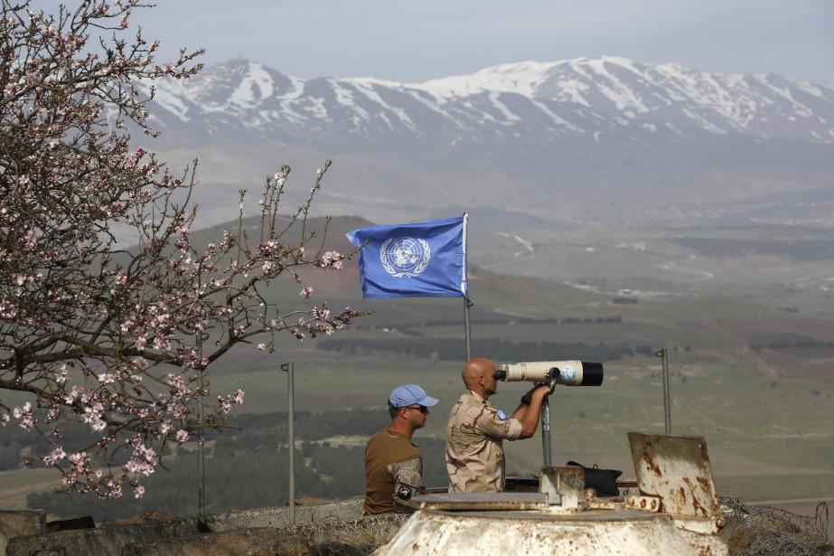 Les États-Unis se sont prononcés mercredi en... (PHOTO JALAA MAREY, ARCHIVES AFP)