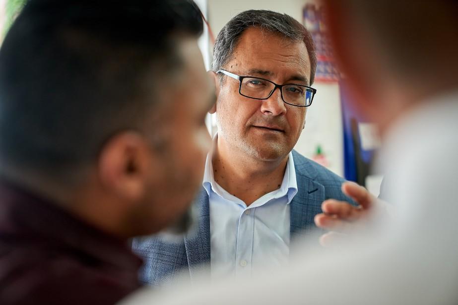 Andrés Fontecilla, porte-parole de QS en matière de... (PHOTO ANDRÉ PICHETTE, ARCHIVES LA PRESSE)