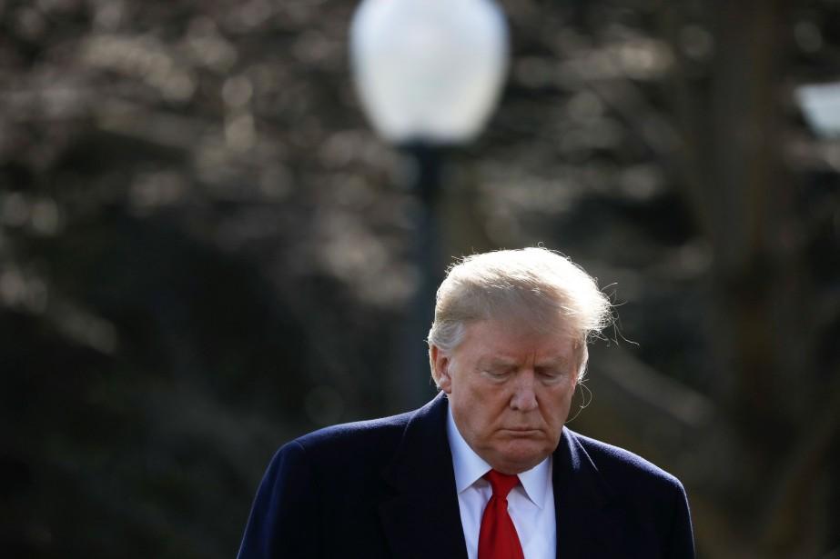 Le président américain Donald Trump a... (PHOTO CARLOS BARRIA, ARCHIVES REUTERS)