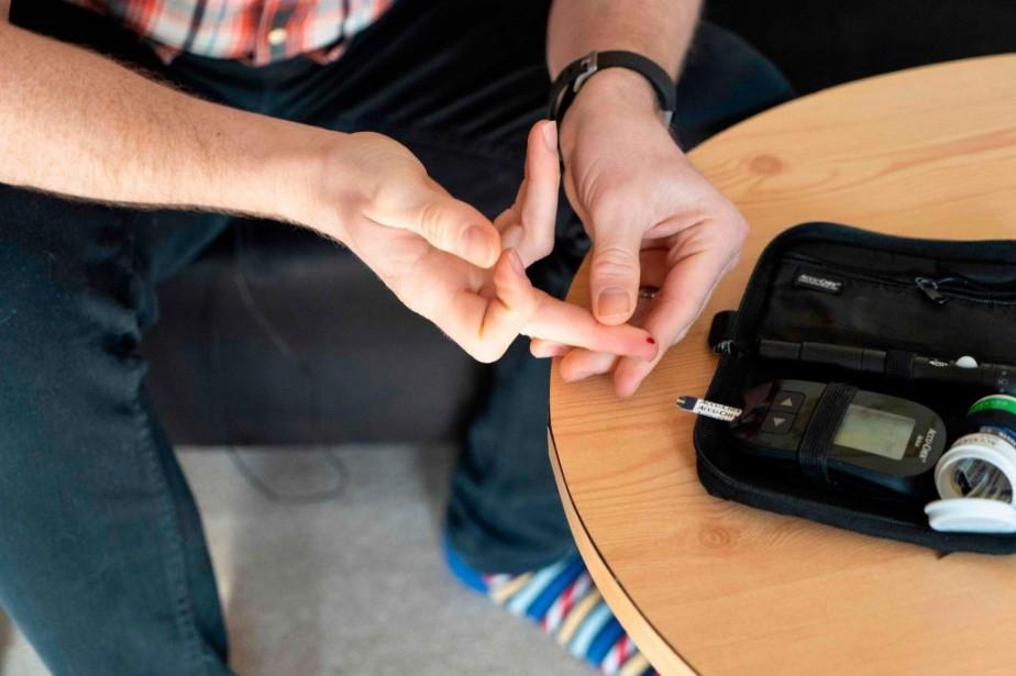 Près d'un adulte sur quatre souffre du diabète... (PHOTONIKLAS HALLE'N, AGENCE FRANCE-PRESSE)