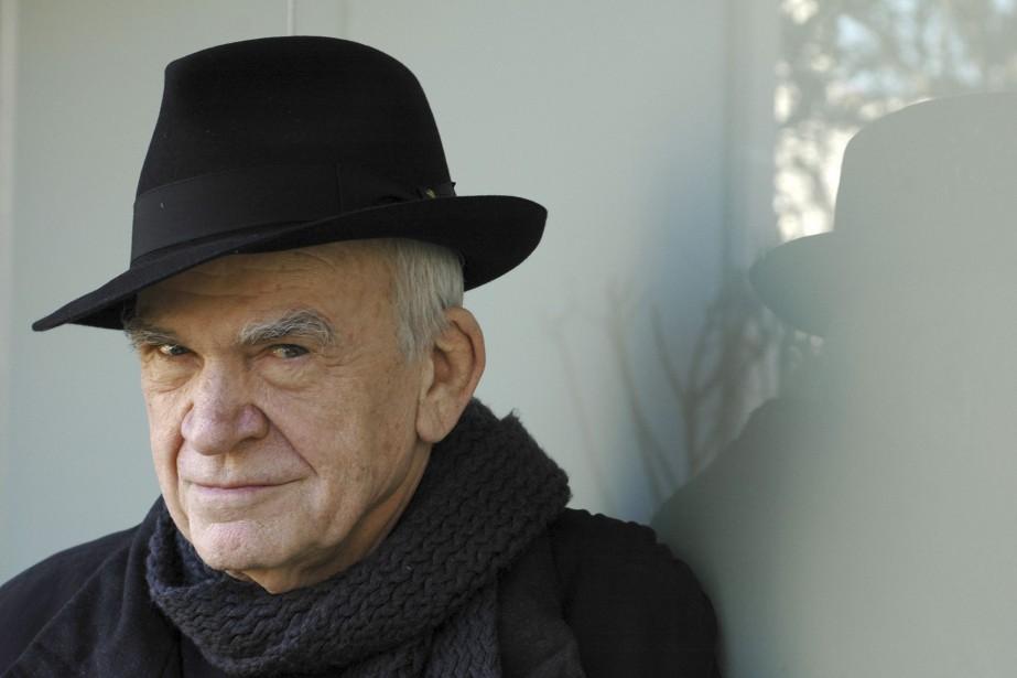 Milan Kundera en 2009... (PHOTO FOURNIE PAR GALLIMARD)
