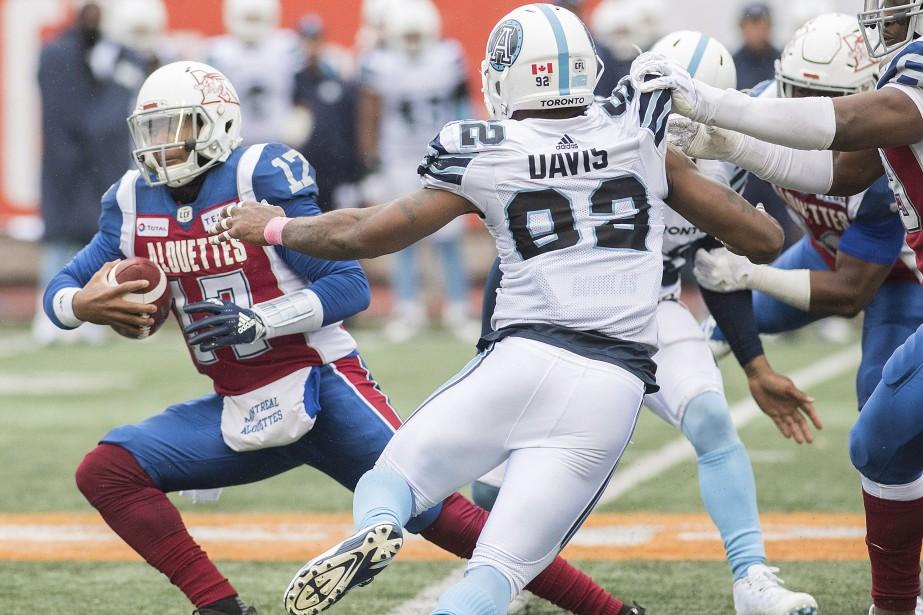 Les Alouettes de Montréal... (PHOTO GRAHAM HUGHES, ARCHIVES LA PRESSE CANADIENNE)