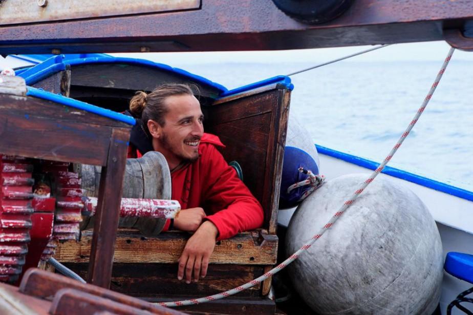 Alan Saulnier est le capitaine duKrog-e-Barz.... (PHOTO ALAIN ROBERGE, LA PRESSE)