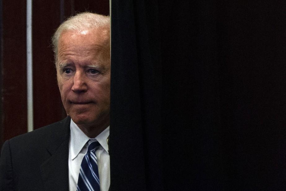 L'ancien vice-président américain Joe Biden... (PHOTO ANDREW CABALLERO-REYNOLDS, AGENCE FRANCE-PRESSE)