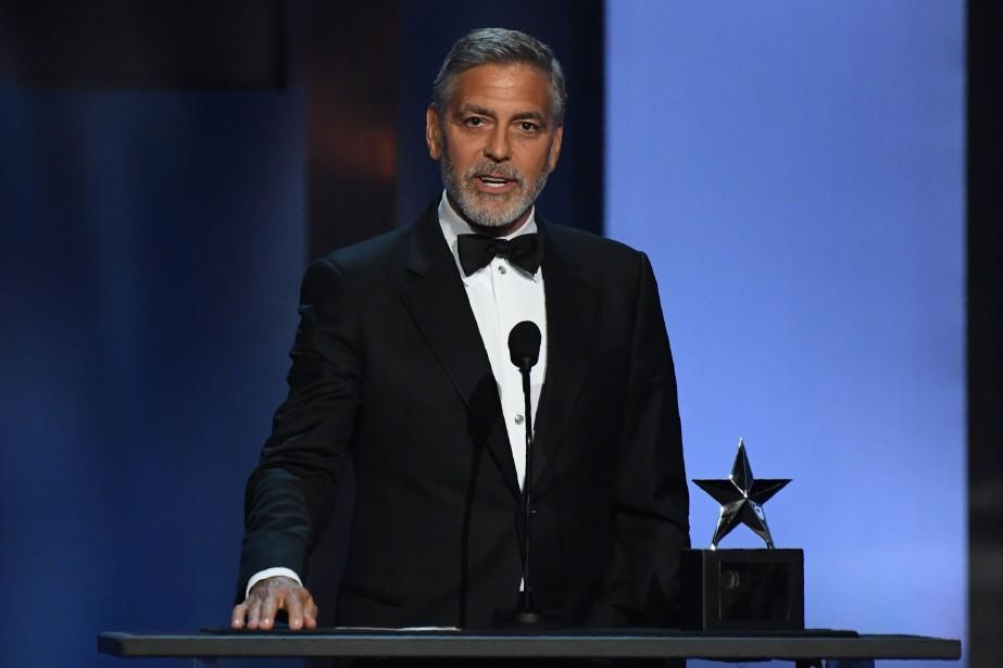 George Clooney... (PHOTO VALERIE MACON, AFP)
