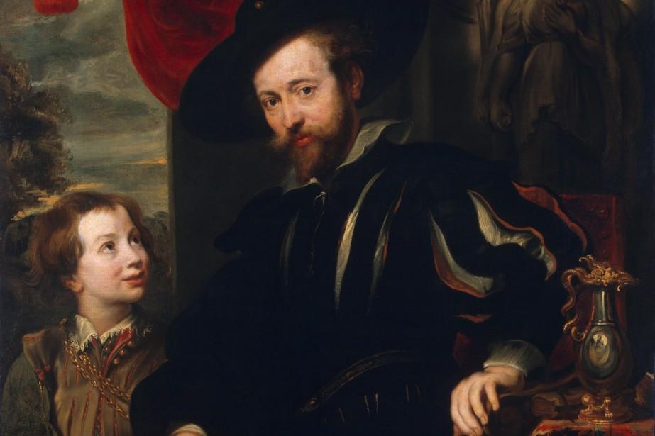 Un autoportrait de Rubens en compagnie de son... (PHOTO WIKIMEDIA COMMONS)