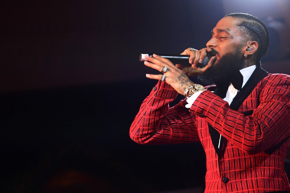 Nipsey Hussle... (PHOTO MATT WINKELMEYER, ARCHIVES AFP)