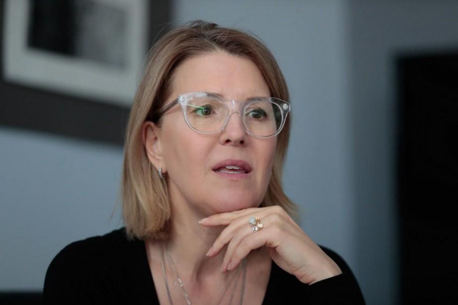 MarieChantal Chassé, députée caquiste deChâteauguay, a été propulséeà... (PHOTO MARTINCHAMBERLAND, LA PRESSE)