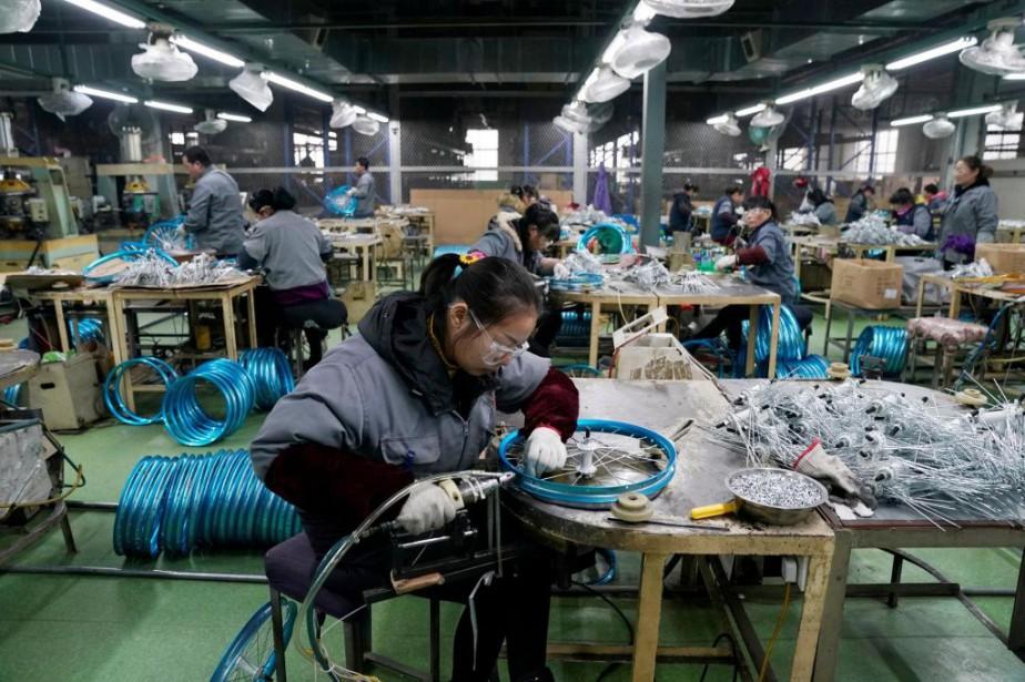 L'activité manufacturière en Chine s'est redressée en mars... (PHOTO ALY SONG, ARCHIVES REUTERS)