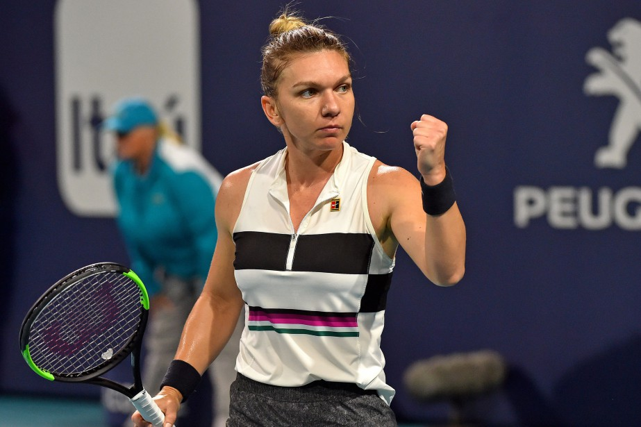 Simona Halep a atteint les demi-finales au tournoi... (PHOTO STEVE MITCHELL, USA TODAY SPORTS)