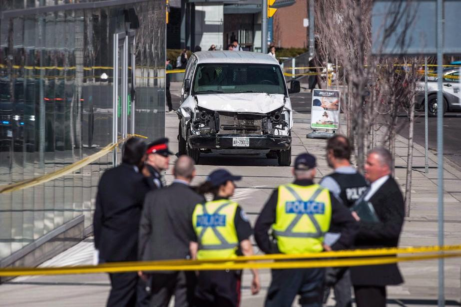 Alek Minassian, de Richmond Hill, en Ontario, fait... (PHOTO AARON VINCENT ELKAIM, ARCHIVES LA PRESSE CANADIENNE)
