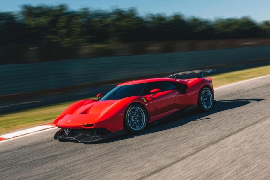 La Ferrari P80/C est l'aboutissement d'une démarche qui... (PHOTO FOURNIE PAR FERRARI)